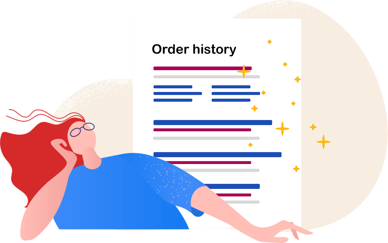 Cancel An Order from Order History Page