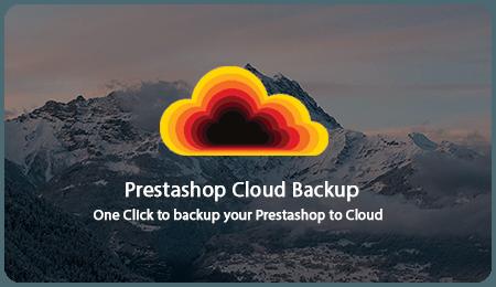 SOO Prestashop Cloud Backup | Prestashop Module