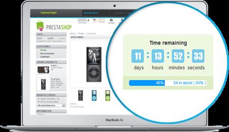 SOO Countdown Discounts Module