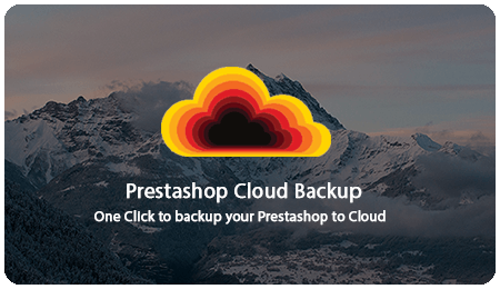 SOO Prestashop Cloud Backup