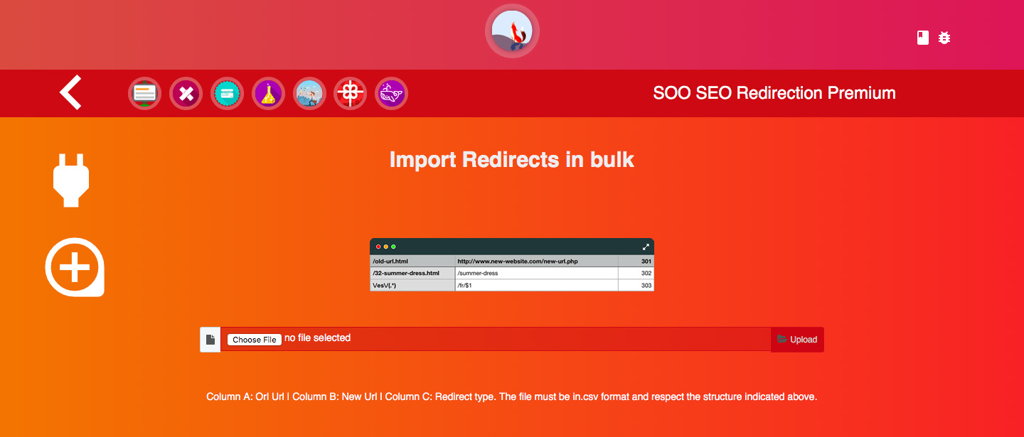SEO Redirection Premium - screenshot 1