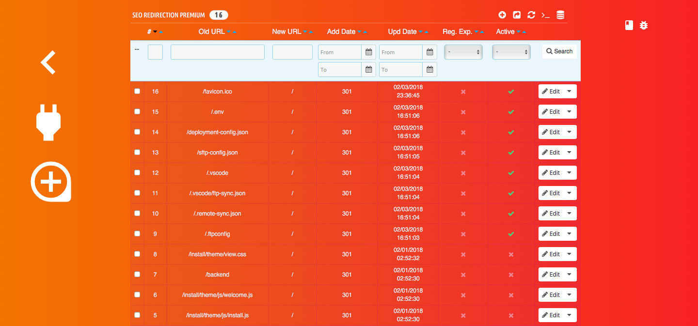 SEO Redirection Premium - screenshot 2