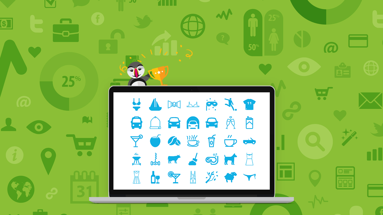 List of Prestashop 1 6 icons to use for free