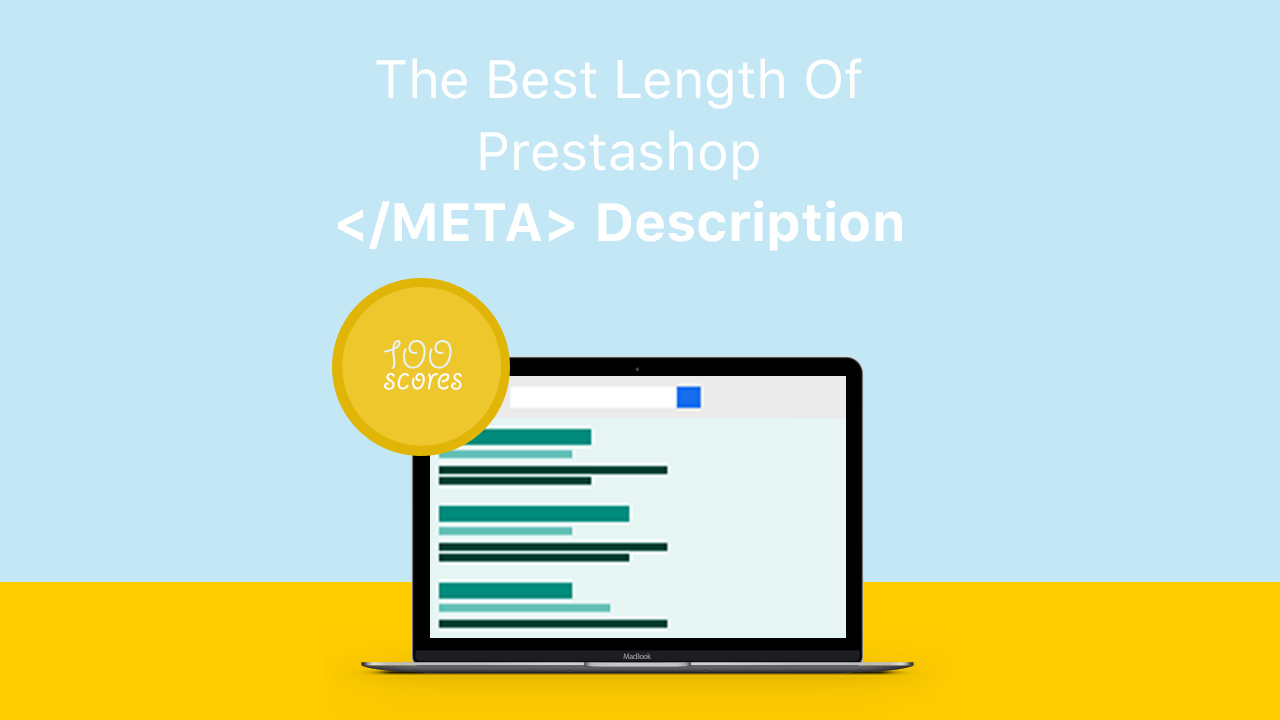The best length of Prestashop meta description (updated)