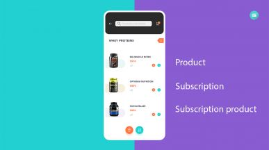 Prestashop products, subscriptions vs subscription products
